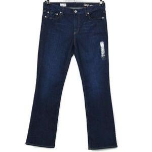 Gap 1969 Jeans Perfect Boot 29 Short X 30 Dark